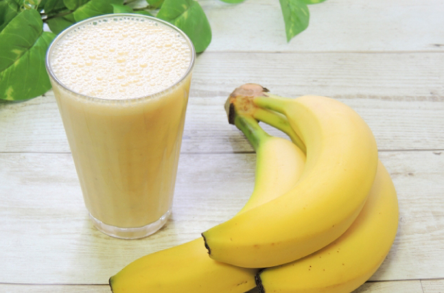 バナナと牛乳