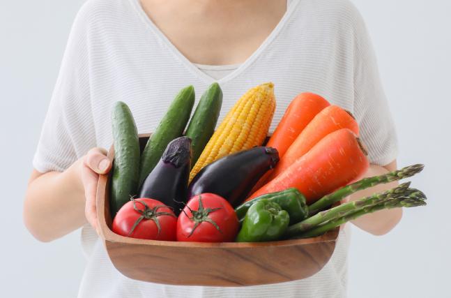 野菜を摂ることの大事さ
