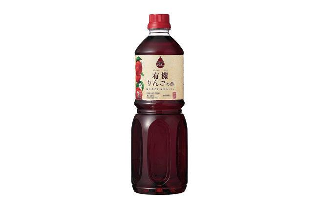 内堀醸造 フルーツビネガー 有機りんごの酢 1L