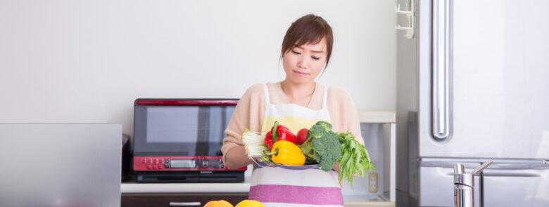 野菜不足を解消する