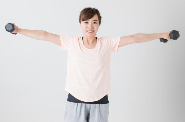 筋力トレーニングで痩せやすい体作り
