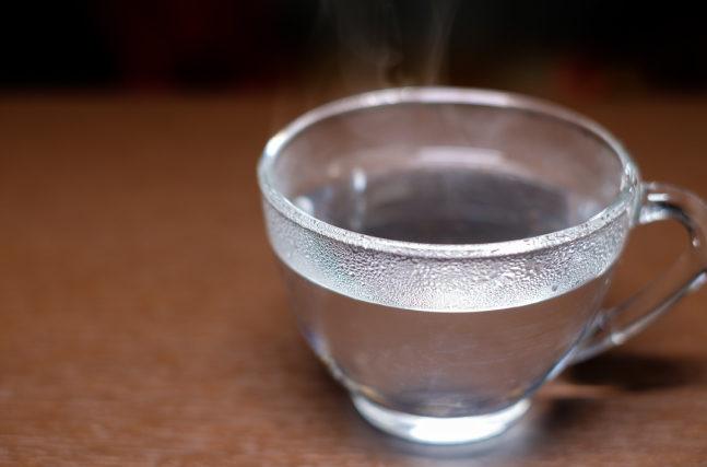 白湯の効果とは