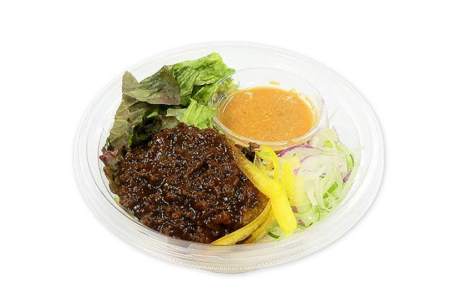 野菜と食べるまぜ麺サラダ 大豆ミート使用
