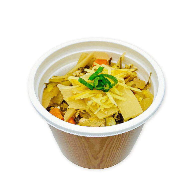 7種野菜の和風生姜スープ