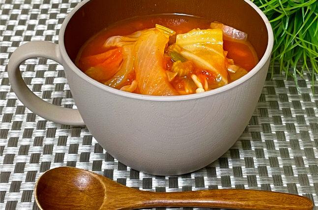 脂肪燃焼スープに置き換え