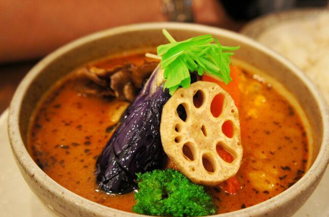 野菜ゴロゴロスープカレー