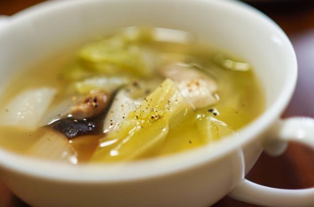 スープをアレンジする